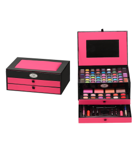 Makeup Kit With Applicators And Brushes BR (AL49)