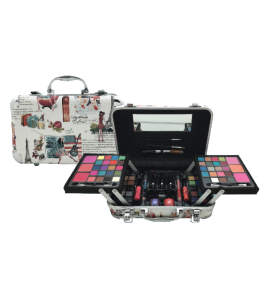 Makeup Kit With Applicators And Brushes BR (AL53B)