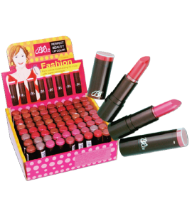 BR Fashion Lipstick (120-1) BR (one display)