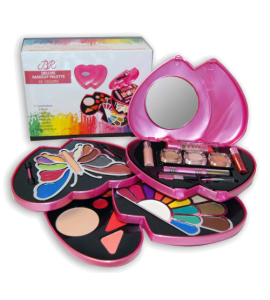 BR Deluxe Makeup Palette Dimensions: 14Lx14Wx7H (1868-1PINK)