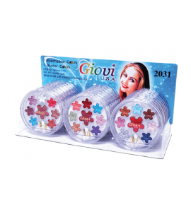 7 Eyeshadow 1 Blush (2031) Giovi (one display)