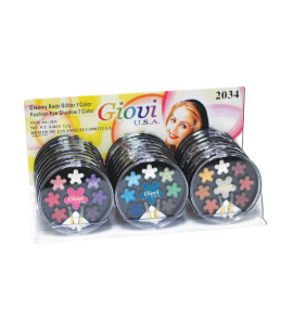 1 Creamy Body Glitter 7 Eyeshadows (2034A) Giovi (one display)
