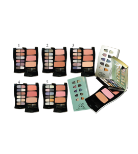 10 Eyeshadow & 3 Blush (218) BR (one piece)