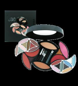 BR 18 Eyeshadow/ 4 Blush/ 9 Lip Gloss/ 1 Mascara/ 2 Face Powder/ 1 Eye & Lip Pencil  (263)