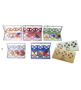 12 Color Elegant Eyeshadow Kit (277) Starry (one piece)