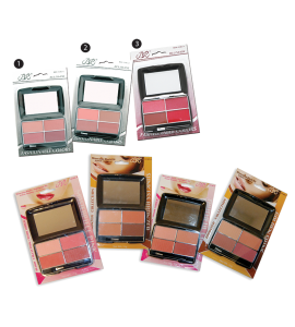 4 Blush Colors (314C) BR (one piece)