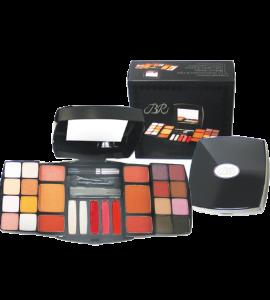 16 Eyeshadow/ 5 Lip Gloss/ 4 Blush/ 2 Face Powder/ 1 Mascara/ 1 Eye and Lip Pencil (385)