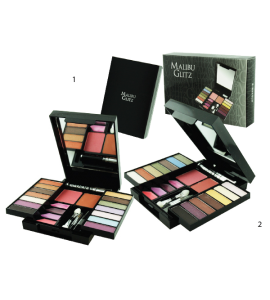 Malibu Glitz 14 Eyeshadow/2 Blush/ 2 Lip Gloss (525B)