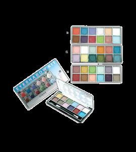 12 Color Eyeshadow Kit (54) Giovi (one display)