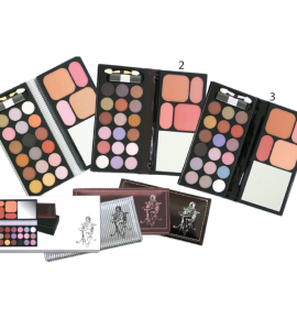 18 Eyeshadow/ 2 Blush/ 2 Face Powder Dimensions: 6.5Lx5.75Wx0.75H (5521)
