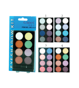 8 Color Eyeshadow Kit (057E) Giovi (one display)