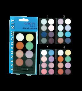 8 Color Eyeshadow Kit (057E) Giovi (one display)