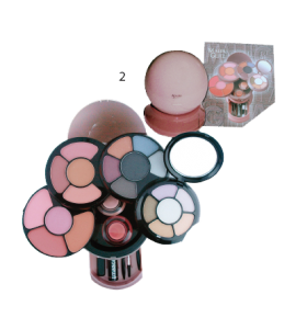 Malibu Glitz 12 Eyeshadow/ 6 Blush/ 2 Face Powder/ 2 Lip Gloss/ 1 Mascara Dimensions:7Lx7.5Wx4.25H (596-2TAN)