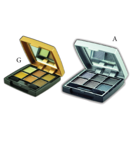 6 Eyeshadow (5) Giovi (one display)