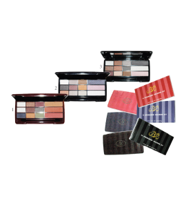 12 Eyeshadow Coloring Kit (615B) BR (one piece)