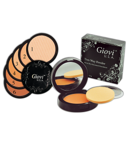 Wet & Dry 2 Way Powder (6617) Giovi (one display)