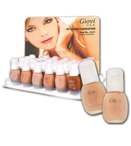 UV Liquid Foundation (6621) Giovi (one piece)