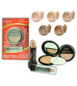 Giovi Face Powder & Concealer (6638) Giovi (one display)