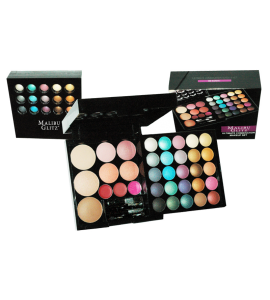 Malibu Glitz 25 Eyeshadow/ 3 Lip Gloss/ 4 Blush/ 3 Face Powder (7230B)