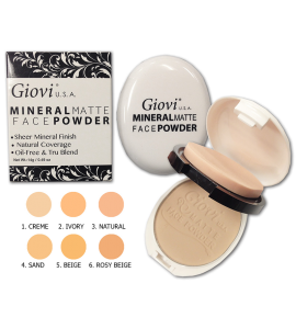 Giovi Mineral Matte Powder (7616) Giovi (one piece)