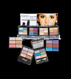 4 Eyeshadow 1 Lipstick 1 Blush (8631) (one piece)