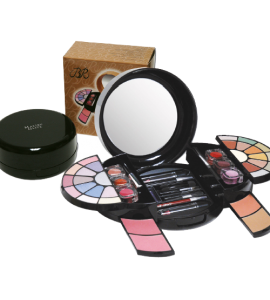 BR 12 Eyeshadow/ 2 Cover Cream Dimensions: 4.25Lx4Wx4.25H (9868B)