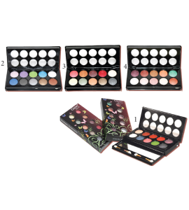 4 Eyeshadow 2 Blush & Applicator (9666) Princessa (one display)