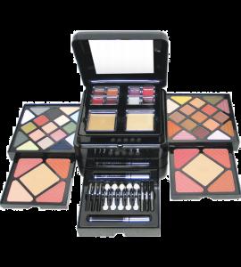 34 Eyeshadow/ 8 Blush/ 8 Lip Gloss/ 1 Mascara/ Eyeliner/ 2 Cover Cream/ 1 Eye & Lip Pencil/ 2 Face Powder/ 1 Eye & Lip Pencil  (999)