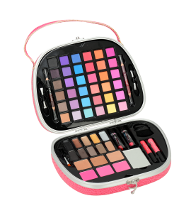 Makeup Kit With Applicators And Brushes BR (AL51)