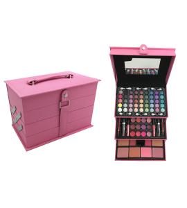 Makeup Kit With Applicators And Brushes BR (AL54)