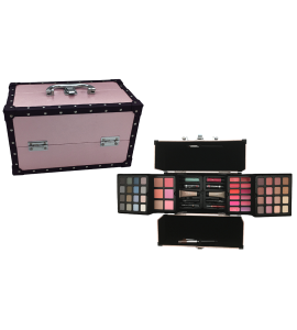 Makeup Kit With Applicators And Brushes BR (AL56)