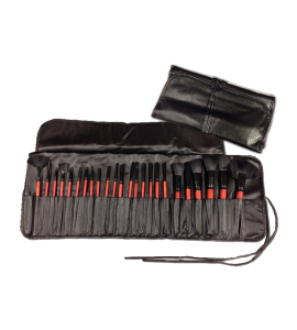 Princessa 24 Piece Brush Set with Case (B201) Princessa 24 piece brush set