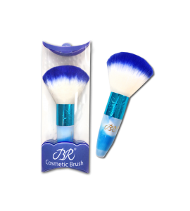 BR Cosmetic Brush (B211) BR blue 24 piece display