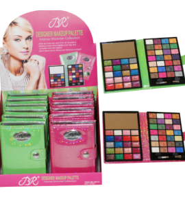 BR Designer Makeup Palette Dimensions: (Open) 5Lx7.5Wx.5H (Closed) 5Lx3.5Wx.75H (BR1871A)