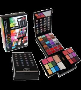 BR Deluxe Makeup Palette 52 Colors Dimensions: 14.5Lx6.75Wx6.25H (BR259)