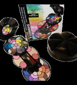 BR Deluxe Makeup Palette 59 Colors Dimensions: 18.5Lx6.5Wx1.75H (BR277)