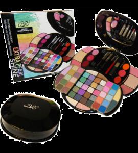 BR Deluxe Makeup Palette 64 Colors Dimensions: 13.5Lx10.5Wx6.5H (BR278)