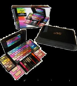 BR Deluxe Makeup Palette 90 Colors Dimensions: 9.5Lx13Wx5.75H (BR279)