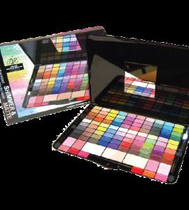 BR Deluxe Shimmer & Matte Makeup Palette 103 Colors Dimensions: 7.25Lx10.25Wx7.5H (BR281A)