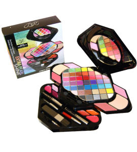 BR Extra Pearl Shine Deluxe Makeup Palette 59 Colors Dimensions: 14Lx11Wx5.75H (BR285)