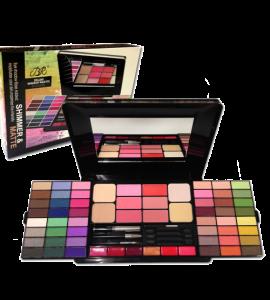 BR Shimmer & Matte Deluxe Makeup Palette (BR288)