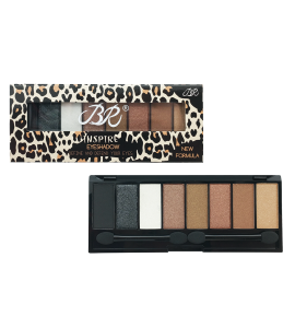 BR 8 Colors Eyeshadow Palette (BR-312C) BR (one piece)