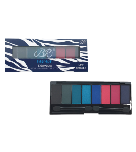 BR 8 Colors Eyeshadow Palette (BR-312D) BR (one piece)