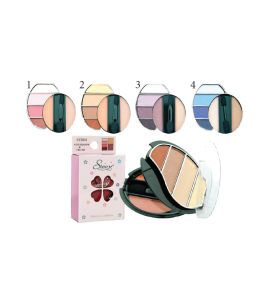 4 Eyeshadow & 2 Blush (CC004) Starry (one display)