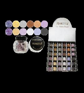 Princessa Eyeshadow Shimmer Powder (EP11B) Princessa (one display)