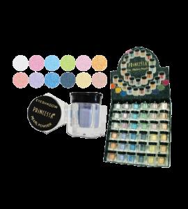 Princessa Eyeshadow Shimmer Powder (EP6B-3) Princessa (one display)
