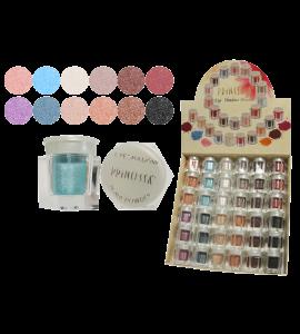 Princessa Eyeshadow Shimmer Powder (EP6W-3) Princessa (one display)