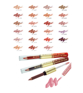Princessa Lip Pencil & Lip Gloss (G-LINER) Princessa (one display)
