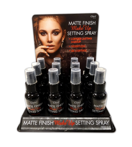 Matte Finish Makeup Setting Spray (GS15) Giovi 12 piece display