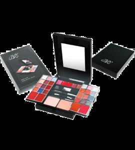 24 Eyeshadow/ 5 Lip Gloss/ 2 Face Powder/ 1 Mascara/ 4 Blush/ 1 Eye/Lip Pencil Dimensions: 7Lx7.75Wx6.5H (JC179)